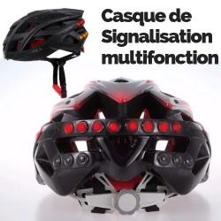 Casque Vélo avec Signalisation