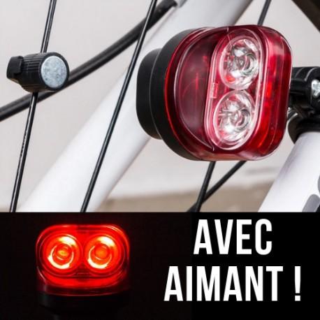 Eclairage de Velo avec Aimant Dynamo
