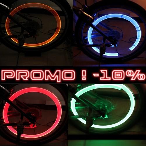 LED pour Roues de Vélo